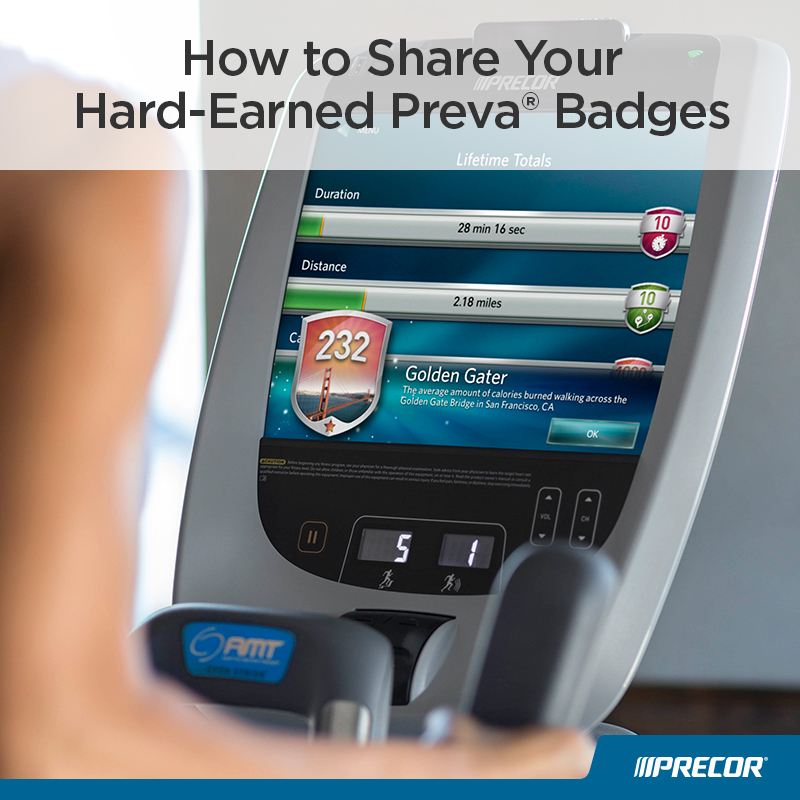 How to Share Your Hard-Earned Preva Badges