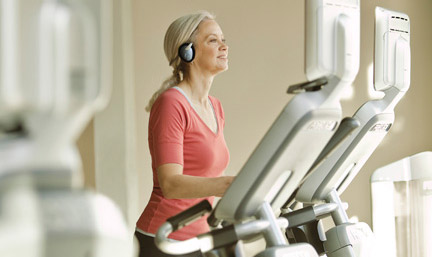 Precor is one of the worlds largest commercial gym fitness equipment suppliers.  Our professional cross trainers are chosen by thousands of health clubs in over 90 countries.