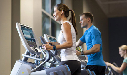 Precor is one of the world's largest commercial gym fitness equipment suppliers.  Our Adaptive Motion Trainer (AMT) is chosen by thousands of health clubs in over 90 countries.