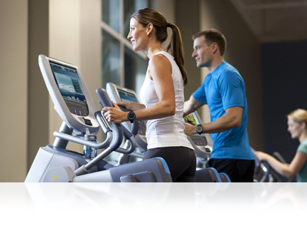 Precor is one of the worlds largest commercial gym fitness equipment suppliers.  Our Adaptive Motion Trainer (AMT) is chosen by thousands of health clubs in over 90 countries.