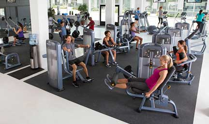 Precor is one of the worlds largest commercial gym fitness equipment suppliers.  Our professional strength machines are chosen by thousands of health clubs in over 90 countries.