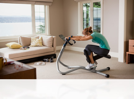 Whether you want a focused abs workout or you want to keep yourself flexible and help prevent injury, Precor offers core and stretch equipment to help you live every day fully and healthily.