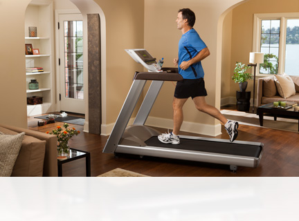 Precor's treadmills provide a home workout experience as natural as the outdoors. The best treadmill choice for your home.