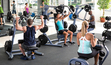 Precor is one of the worlds largest commercial gym fitness equipment suppliers.  Our professional plate loaded equipment is chosen by thousands of health clubs in over 90 countries.