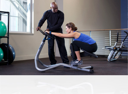 Strengthens core muscles without the strain. Our stretching equipment is designed to help users improve their flexibility and strengthen key muscle groups before and after exercise.