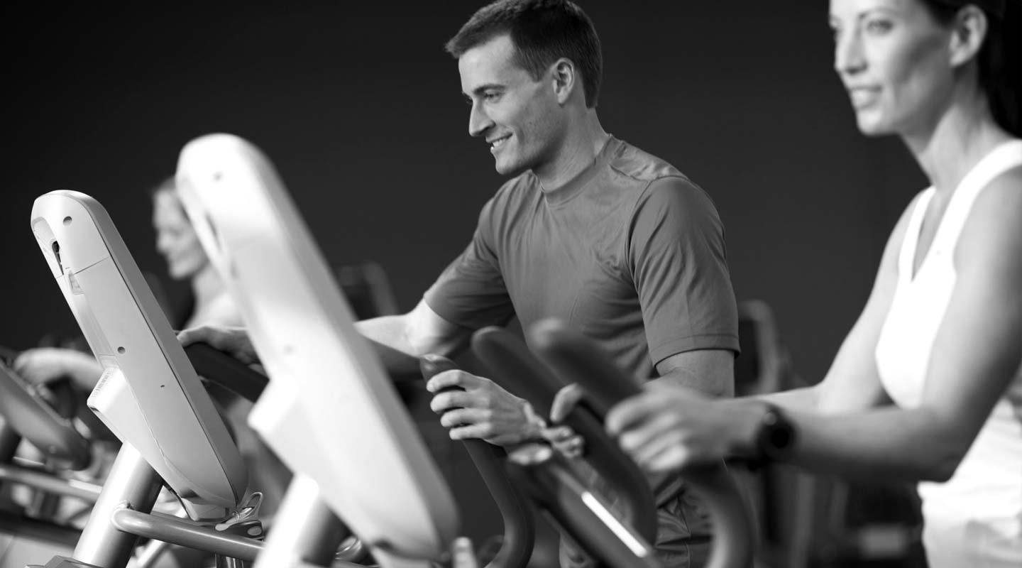 Use Precor Equipment at the Gym or Home