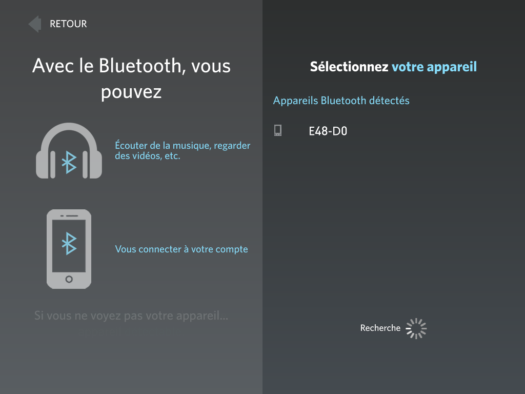 Bluetooth Sign-in