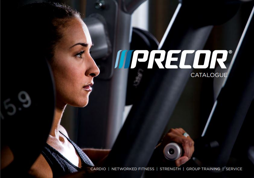 Precor Commercial Catalog Cover