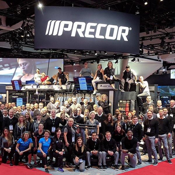 Precor Debuts a Show-Stopping New Look at IHRSA 2018