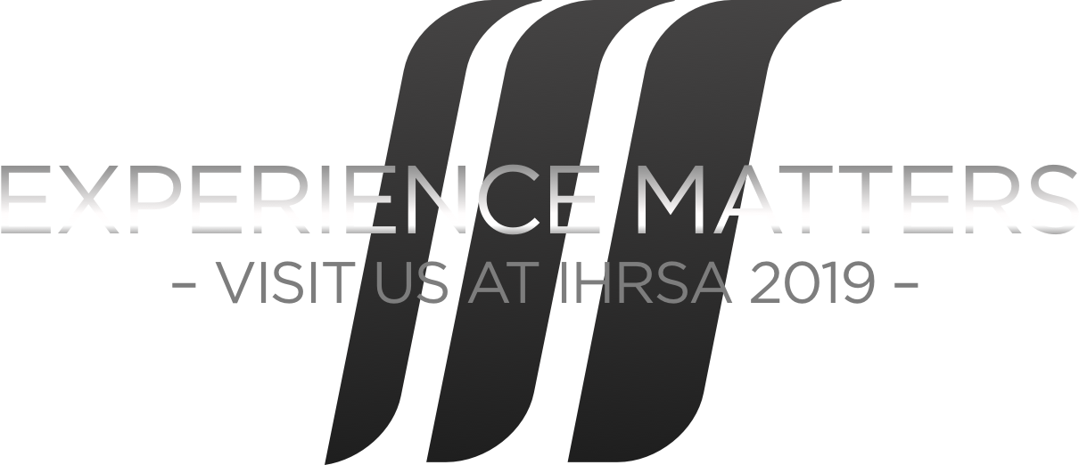 Experience Matters. Visit us at IHRSA 2019.