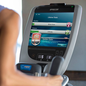 Precor P80 Videos on Demand