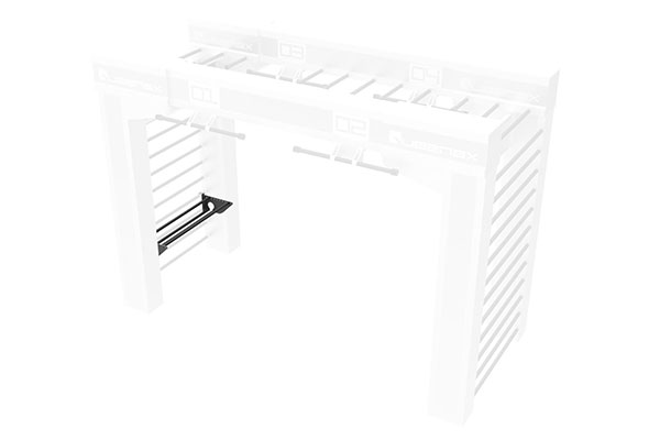 Queenax Horizontal Dynamax Shelf Storage Optional