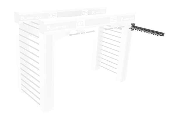 Queenax Lateral Bar Rack Storage Optional