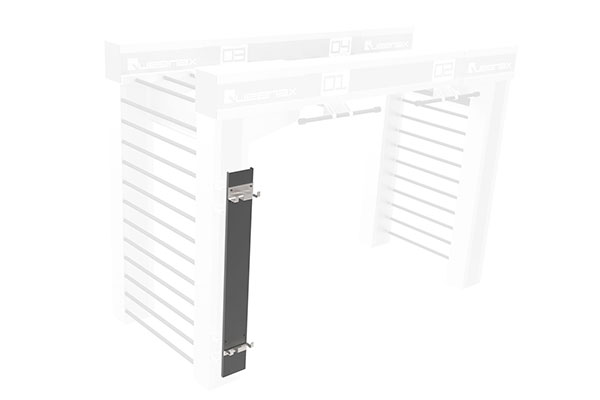 Queenax Vertical Olympic Bar Shelf Storage Optional