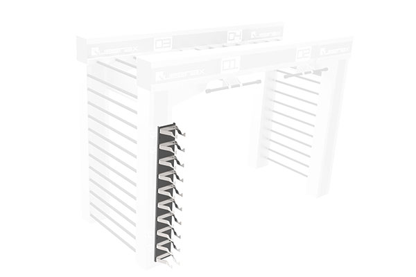 Queenax Vertical Dumbbell Shelf Storage Optional