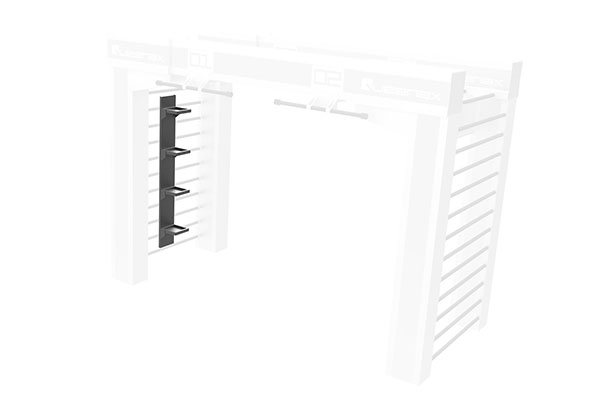 Queenax Vertical Universal Shelf Storage Optional