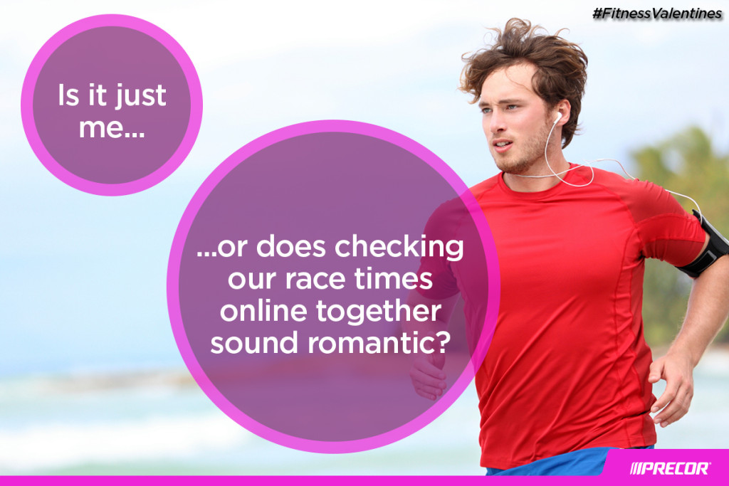 Is it just me... or does checking our race times online together sound romantic? #FitnessValentines