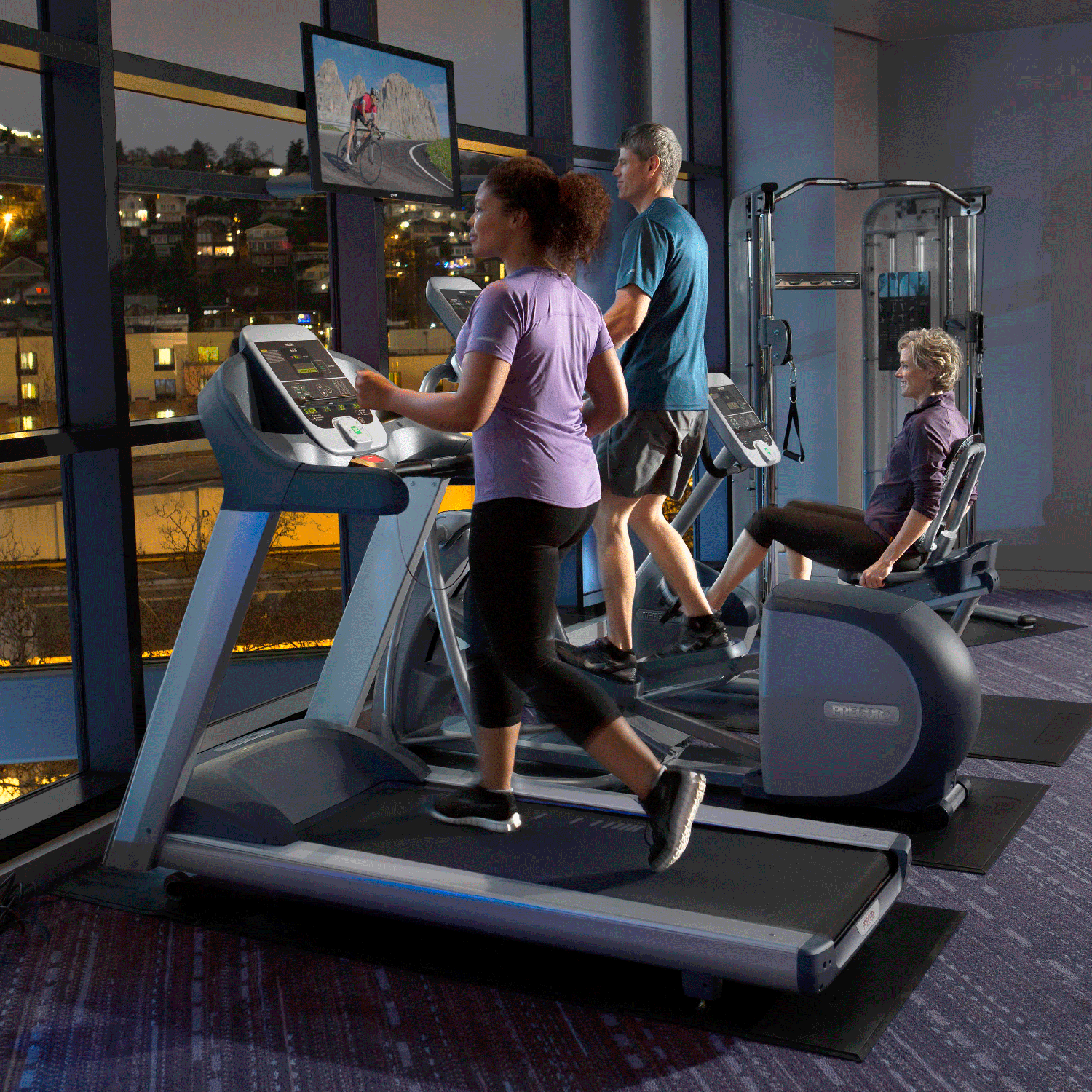 Hospitality operators how big should your fitness room be