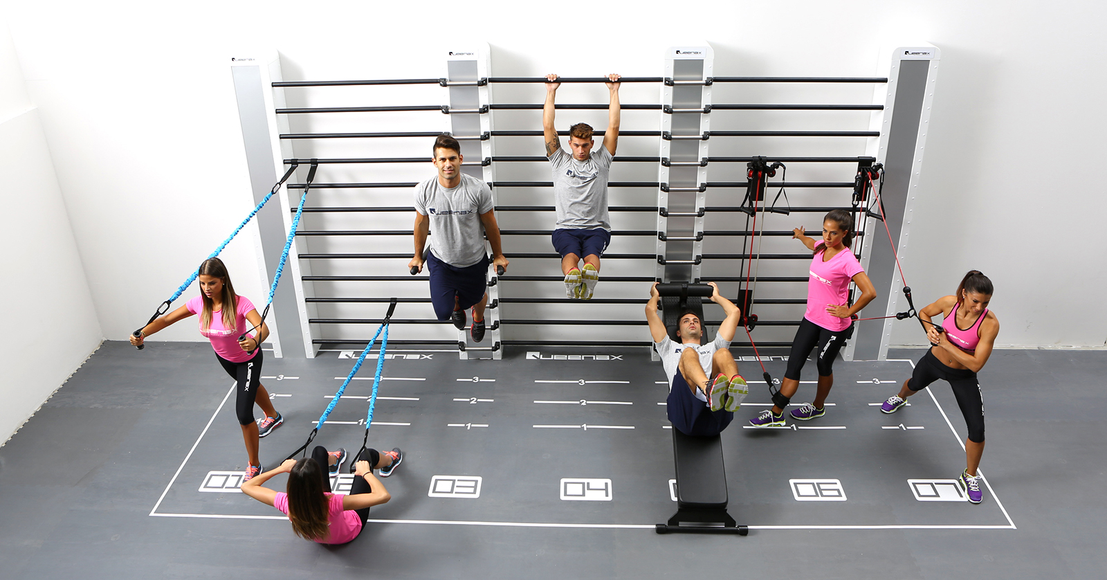 10 Reasons Queenax Functional Training Is Perfect For Your Gym Precor Circuit Exercises Easily Transition From To Group In Minutes