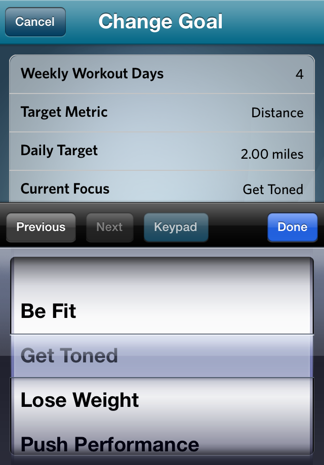 How to Set Fitness Goals with the Preva App 4