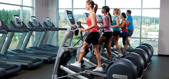Professional cardio equipment for hotel gyms