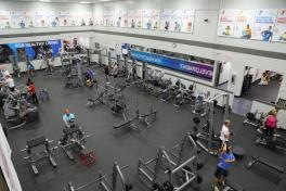 Tampa YMCA workout room