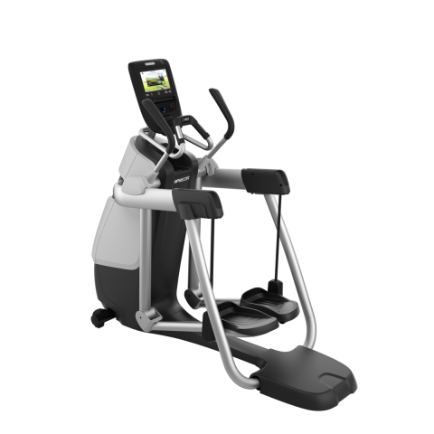 Precor AMT 763 Gloss Metallic Silver Frame