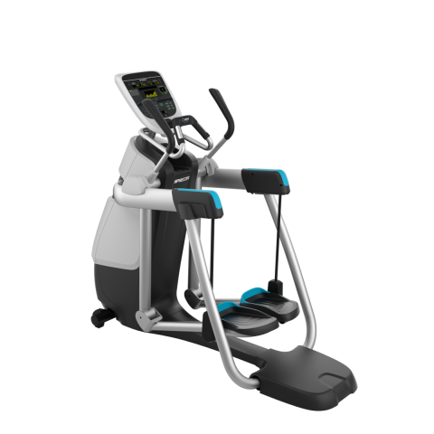 Precor AMT 835 Gloss Metallic Silver Frame