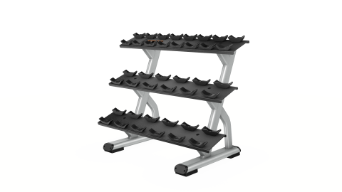 Discovery Series 3 Tier Dumbbell Rack
