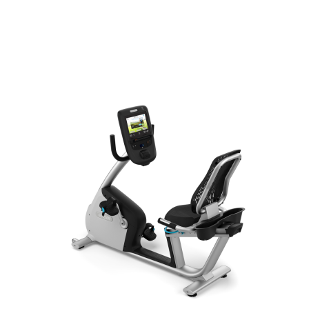 RBK 865 Recumbent Bike Gloss Metallic Silver Frame