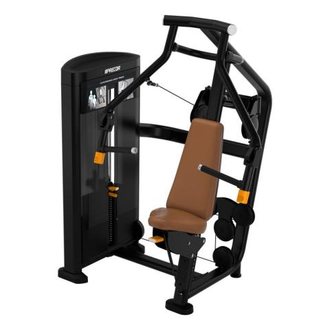 Precor Selectorized Line Diverging Low Row