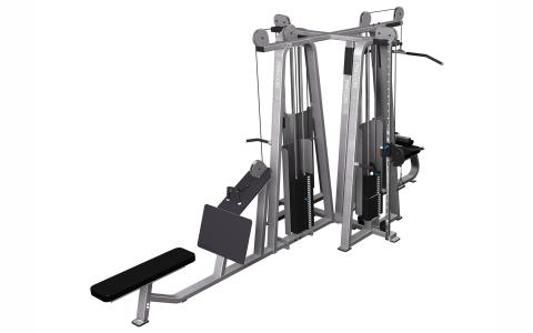 Precor Multi-Station 4-Stack CW2137