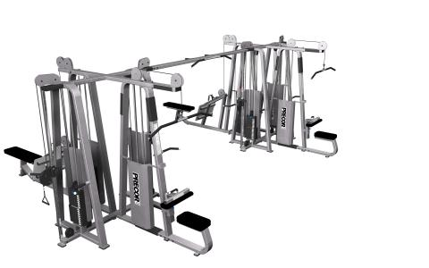 Precor Multi-Station 8-Stack CW2505