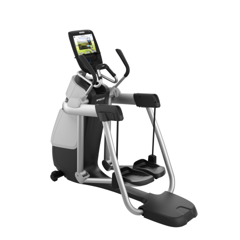 Precor AMT 783 Gloss Metallic Silver Frame