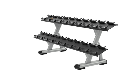 Discovery Series 2 Tier 10 Pair Dumbbell Rack