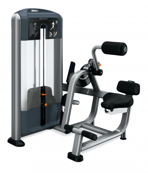 Precor Selectorized Back Extension