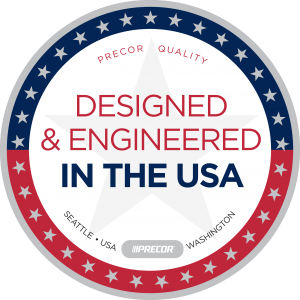 Precor is made in the USA