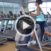 Precor AMT HIIT Workout
