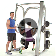 Smith Machine Lower Body Blast