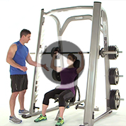 Smith Machine Upper Body Superset Workout