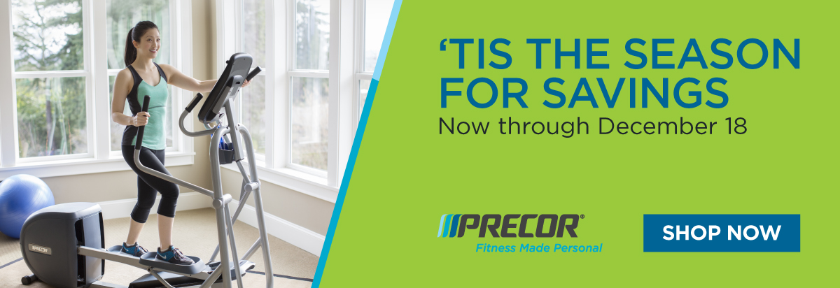 Lowest Prices of the Year on Select Precor Home Fitness Equipment