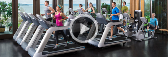 Precor Treadmill Demo