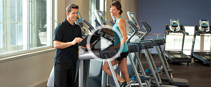 Precor AMT Small Group Training
