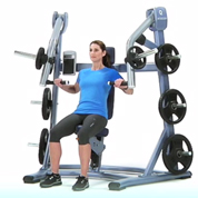 Precor Plate Loaded Incline Press