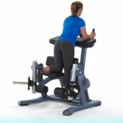 Precor Plate Loaded Leg Curl