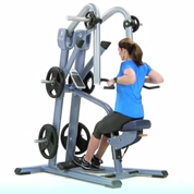 Precor Neutral Grip Plate Loaded Low Row
