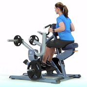 Precor Neutral Grip Plate Loaded Seated Row