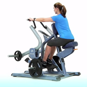 Precor Wide Grip Plate Loaded Seated Row