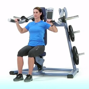 Precor Plate Loaded Shoulder Press