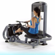 Precor Selectorized Diverging Low Row